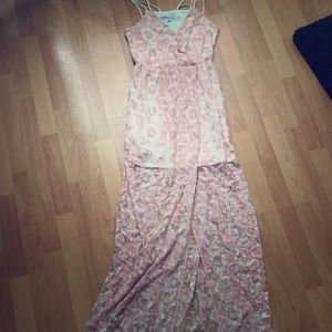 BCBGeneration  Maxi dress with roses